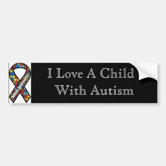 Autism Bumpersticker Bumper Sticker