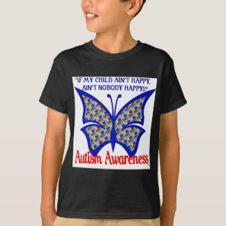 autism butter fly T-Shirt