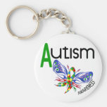 AUTISM Butterfly 3.1 Keychains