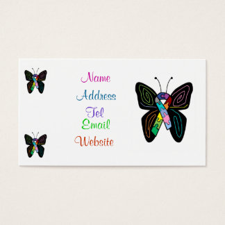 Autism Butterfly  business cards