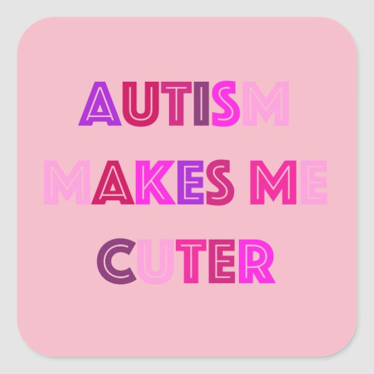 Autism Cute Stickers