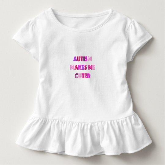 Autism Cuter Girls Shirt
