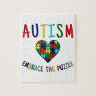 Autism Embrace The Puzzle