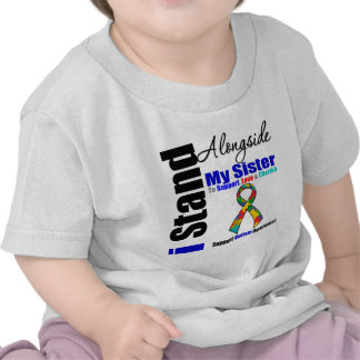 Autism I Stand Alongside My Sister Tee Shirts