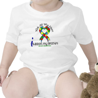 Autism I Support My Brothers Romper