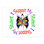 Autism I Support My Student Postcard