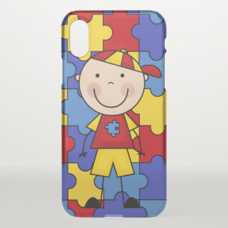 Autism iPhoneX Clearly™ Deflector Case