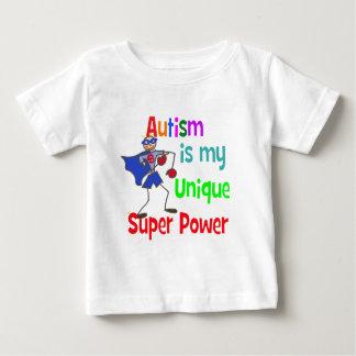 Autism is my unique super power tee shirt