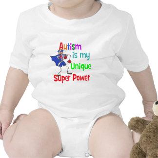 Autism is my unique super power romper