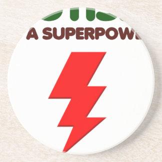 Autism is super power, children, kids, mind mental coaster
