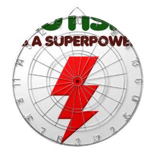 Autism is super power, children, kids, mind mental dartboard