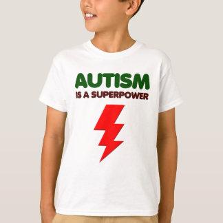 Autism is super power, children, kids, mind mental T-Shirt