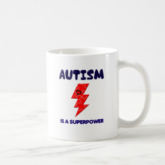 Autism is superpower, mental condition health mind coffee mug