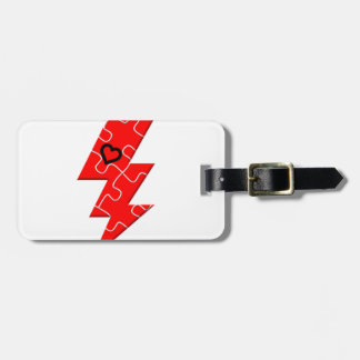 Autism is superpower, mental condition health mind luggage tag