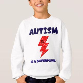 Autism is superpower, mental condition health mind sweatshirt