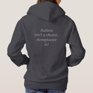 Autism isn't a choice hoodie