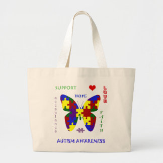 Autism Love and Support Tote