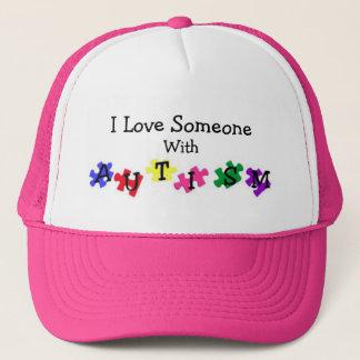 Autism Love Ball Cap