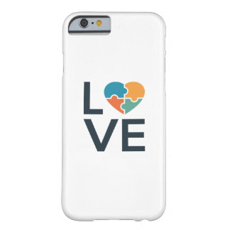 Autism Love Barely There iPhone 6 Case