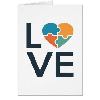 Autism Love Card