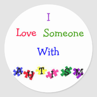 """Autism Love"" Sticker Sheet"
