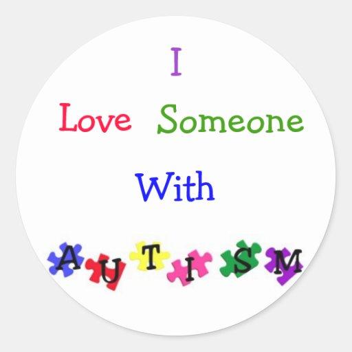 """""""Autism Love"""" Sticker Sheet"""