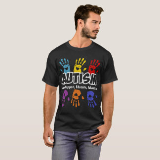 Autism Love Support Educate Advocate T-Shirt