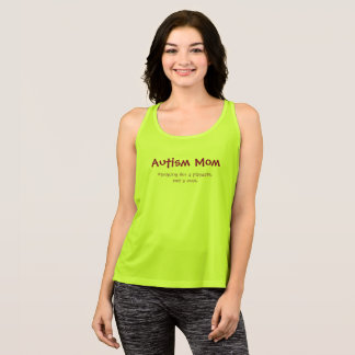 Autism Mom Looking for a playdate, not a cure Tank Top