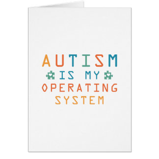 Autism Operating System Card