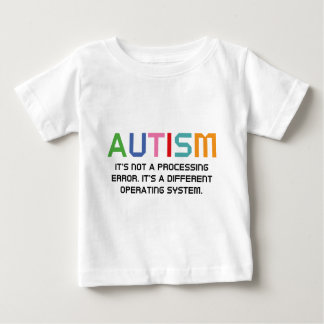 Autism Operating System Tee Shirt