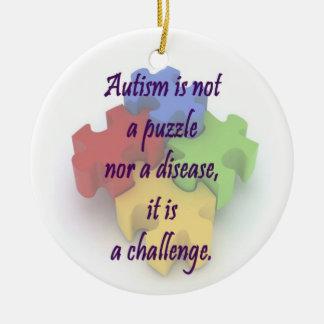 Autism Ornament