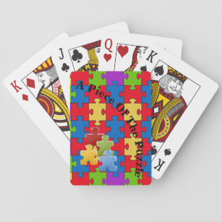Autism Playing Cards