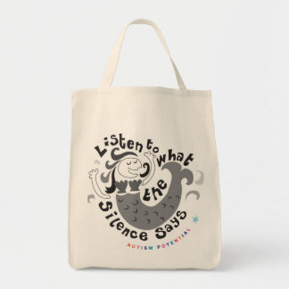 Autism Potential Groceries Tote