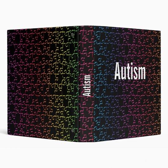 autism puzzel  binder template