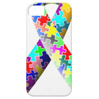 Autism Puzzle Ribbon iPhone 5 Case