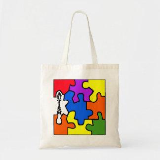 Autism (Puzzle) Tote Bag