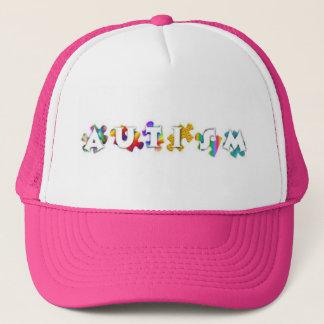 Autism Rainbow Cap Trucker Hat