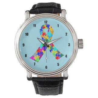Autism Ribbon Blue Watch