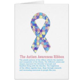 Autism Ribbon Card