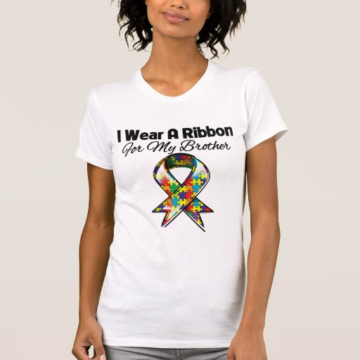 Autism Ribbon For My Brother Tshirt