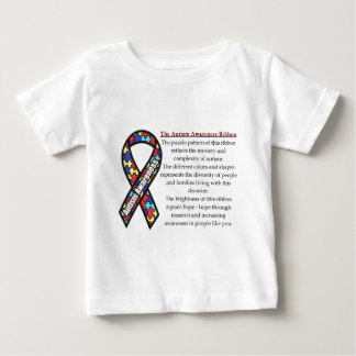 Autism Ribbon meaning Baby T-Shirt