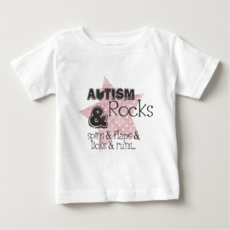 autism rocks baby T-Shirt