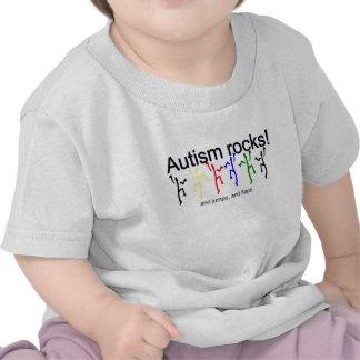 Autism rocks! tshirt