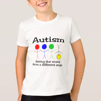 Autism Seeing The World From A Different Angle Shirt