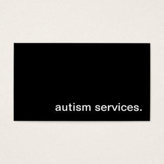 Autism Services Business Card