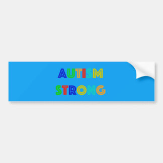 Autism Strong Bumper Sticker