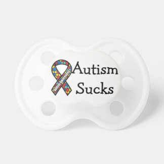 Autism Sucks Pacifier