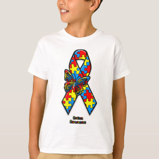 Autism Support Ribbon T-Shirt