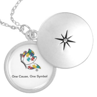 Autism Symbol Locket