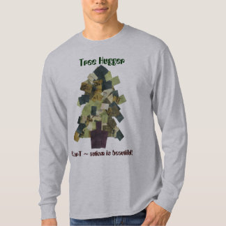 Autism T-shirt Tree Hugger by MAXarT